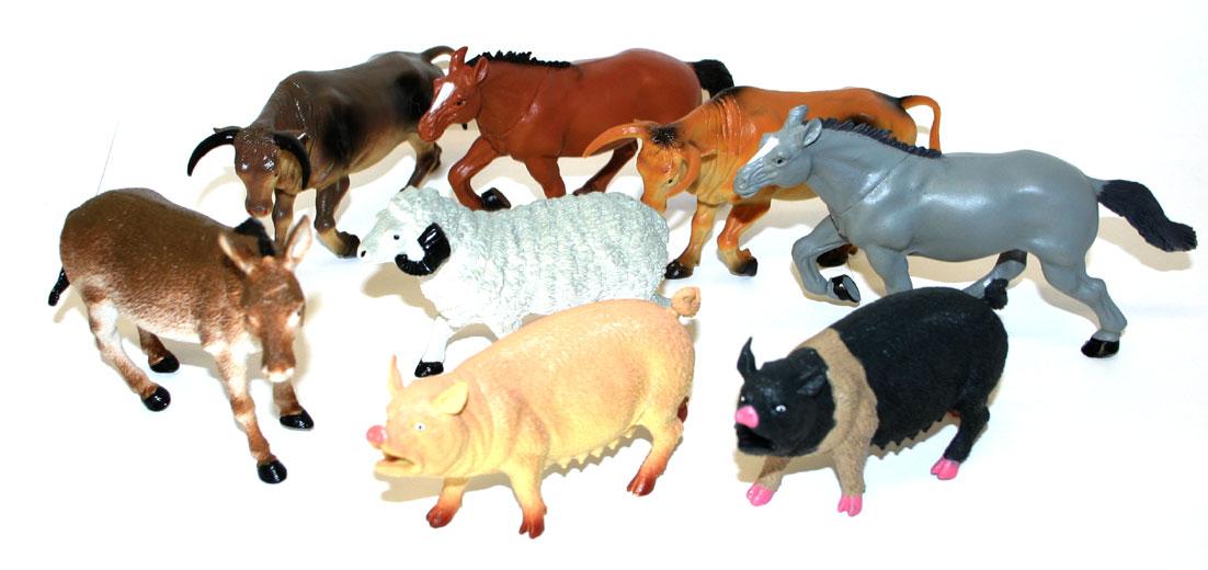 zvieratá domáce 12 - 20 cm