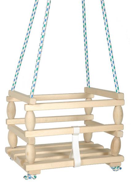 hojdačka Baby, drevená