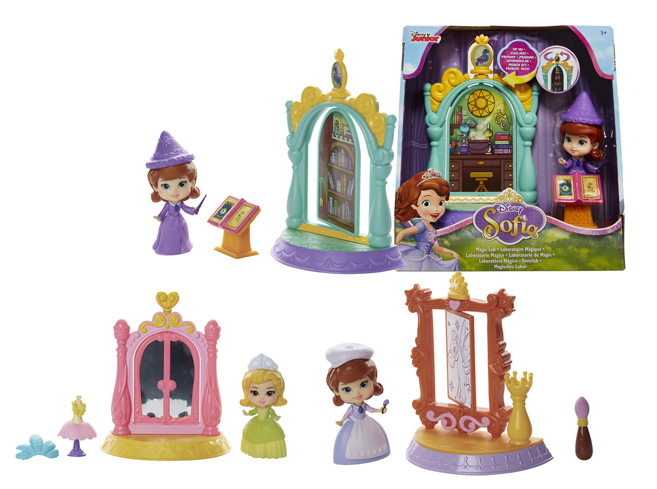 bábika Sofia Prvá mini hrací set