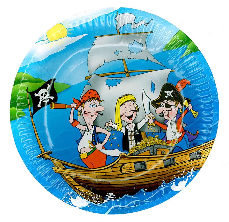 tanierik párty - pirát, 6 ks vo vrecku