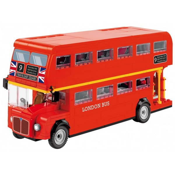 stavebnice London bus 1:35, 435 k, 1 f