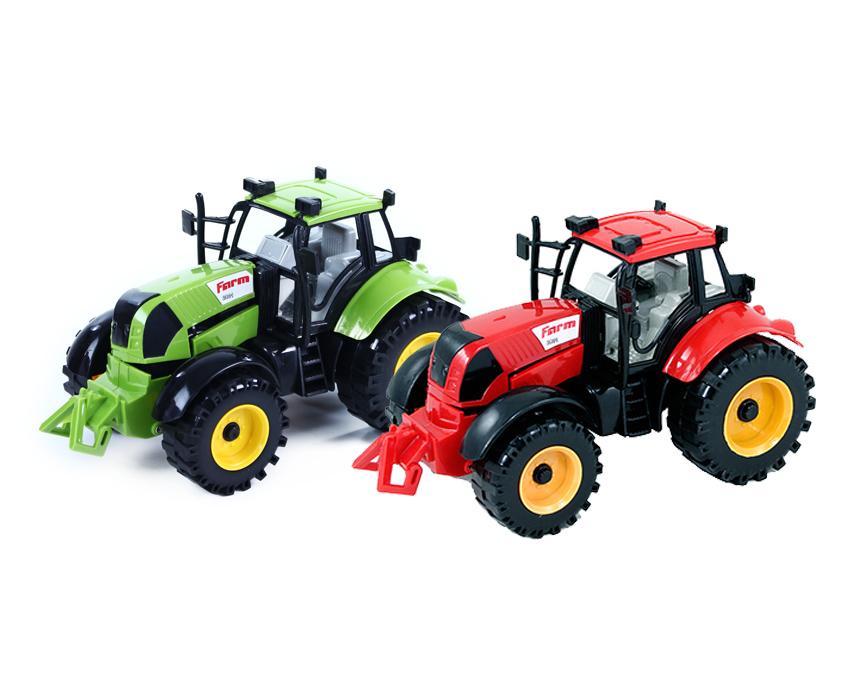 traktor farmársky, 2 farby