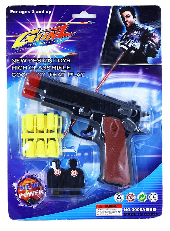 pištoľ na gumové náboje