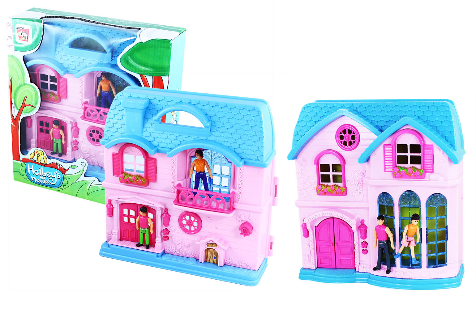domček pre bábiky malý, 2 druhy