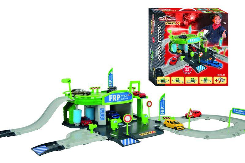 garáž CREATIX PETROL STATION + 1 autíčko