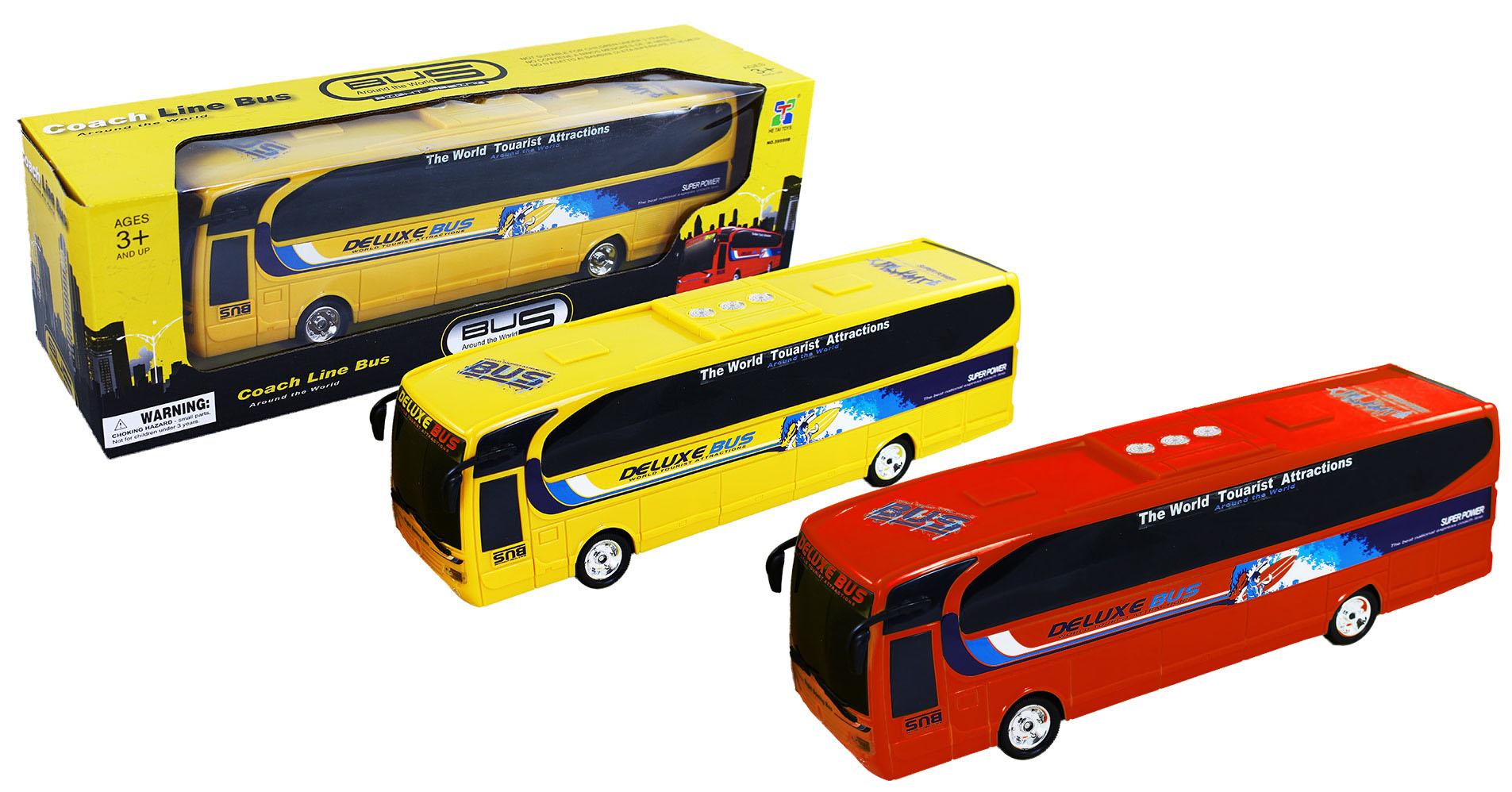 autobus DELUXE, 2 druhy