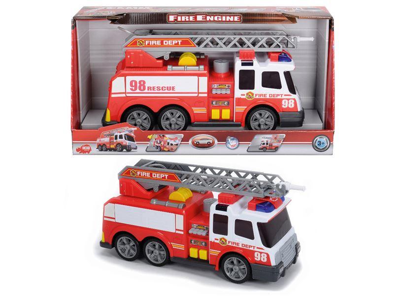 auto hasičské AS so svetlom a zvukom, 36 cm