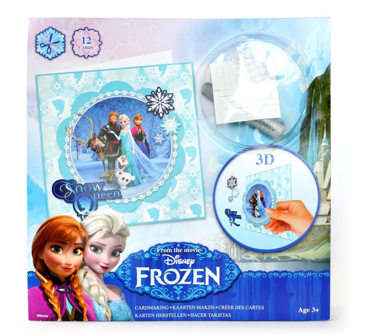 želanie kreatívne 3D FROZEN - Ľadové kráľovstvo