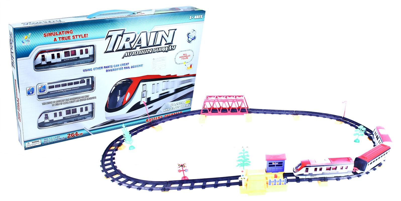 vlak se světlem a zvukem, 50 dílů