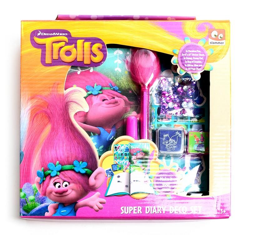 zápisník / pamätník kreatívni Trollovia - Trolls
