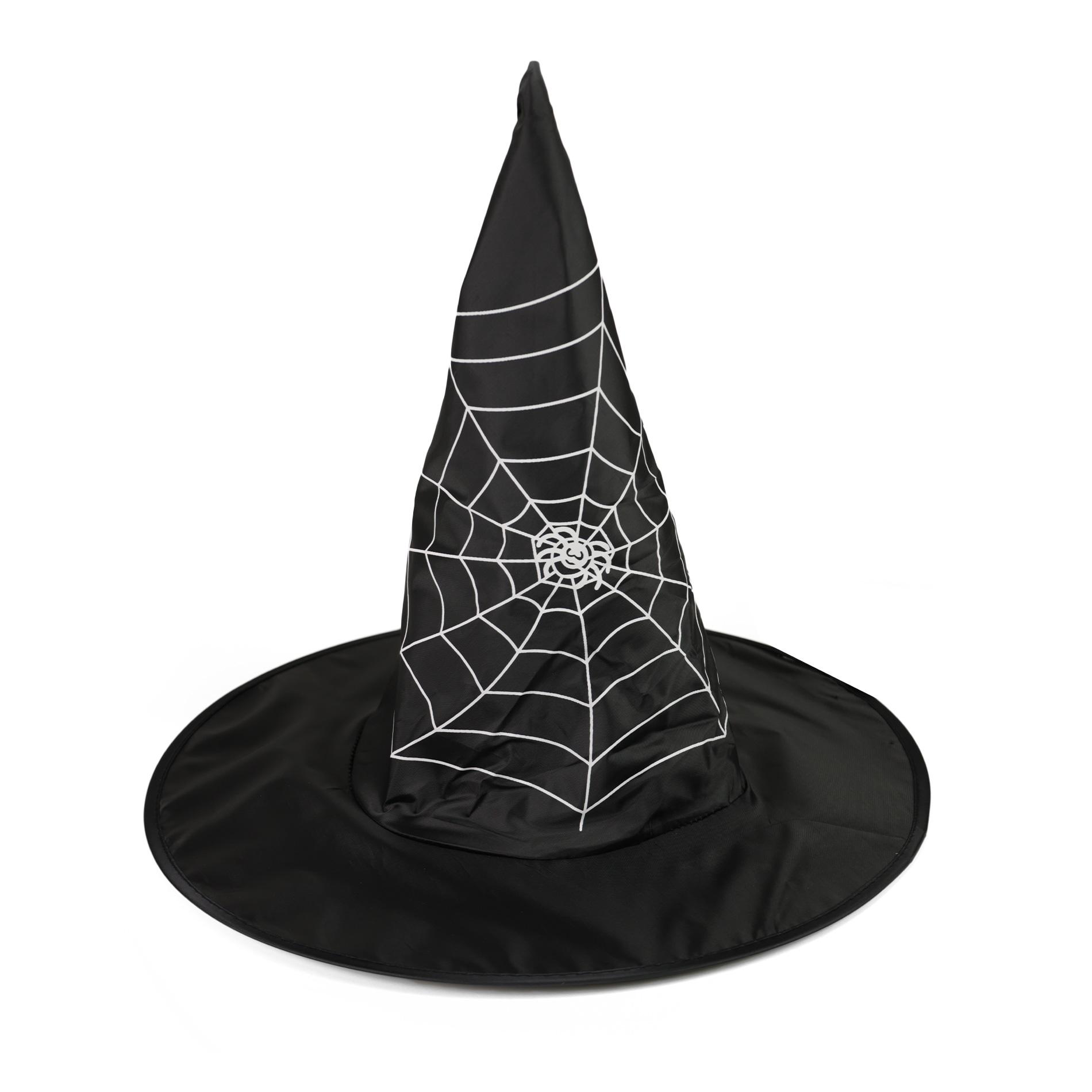 klobúk čarodejnícky s pavučinou, detský