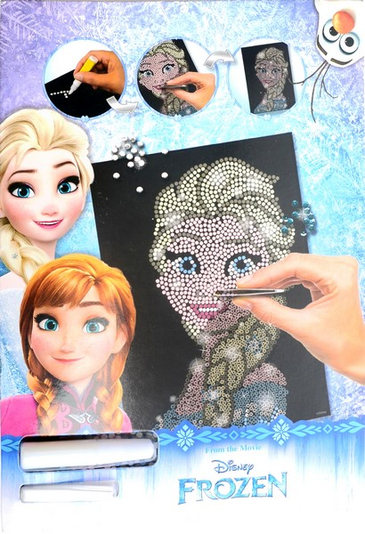 mozaika Anna FROZEN - Ľadové kráľovstvo