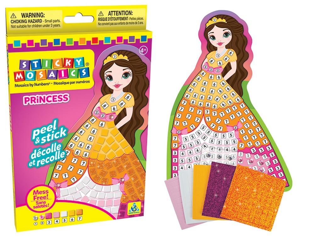 mozaika princezná kreatívna