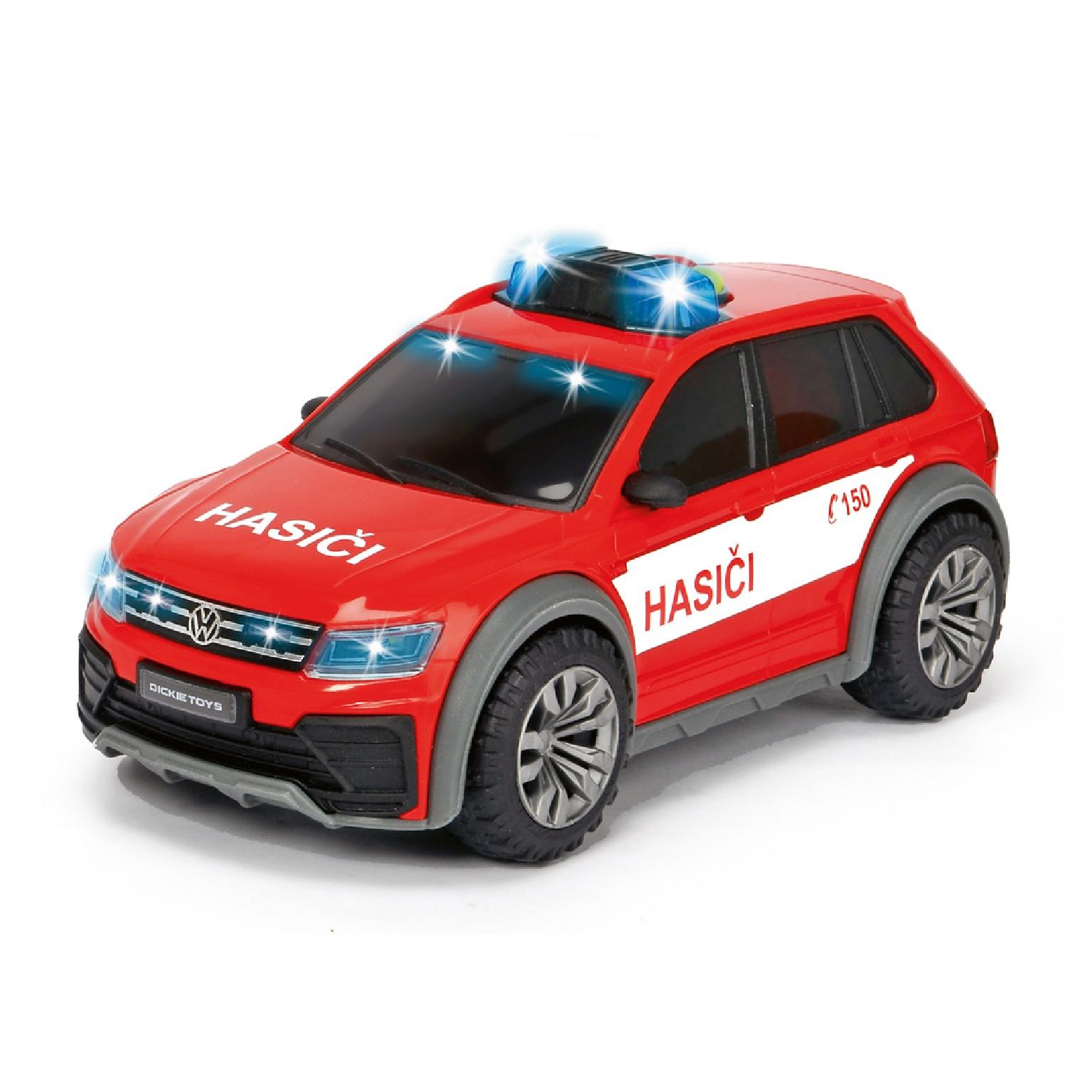 Hasičské auto VW Tiguan R-Line Fire česká verze