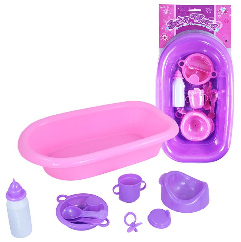 vana pro panenky s příslušenstvím, 2 dr.