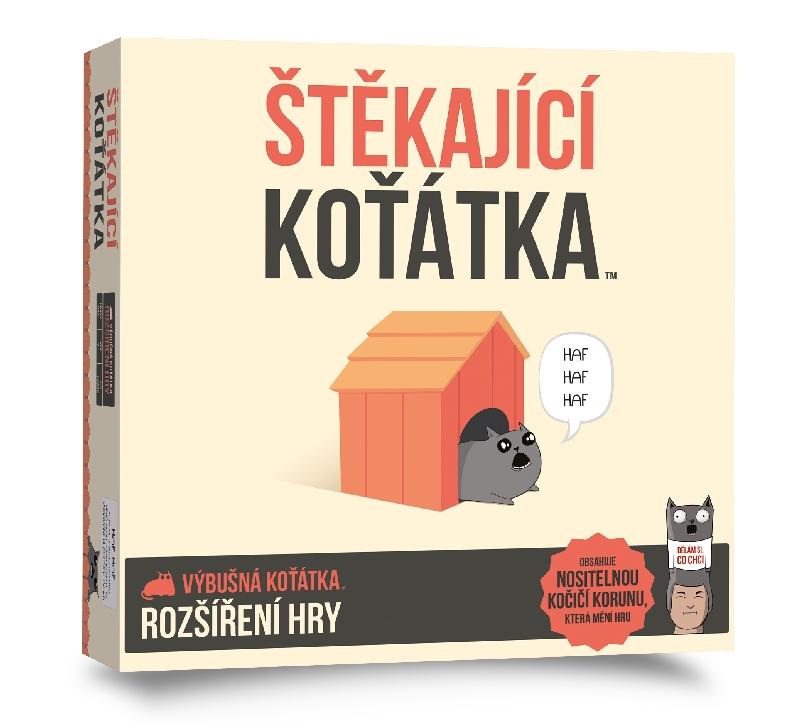 Hra Výbušná koťátka  3 rozšíření Štěkající koťátka