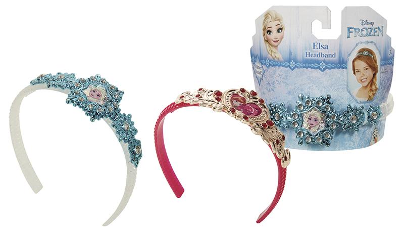 Frozen - Ľadové kráľovstvo čelenka princeznej Anny a Elsy
