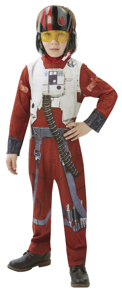 karnevalový kostým STAR WARS Epizóda 7 X-Wing Fighter Pilot -...
