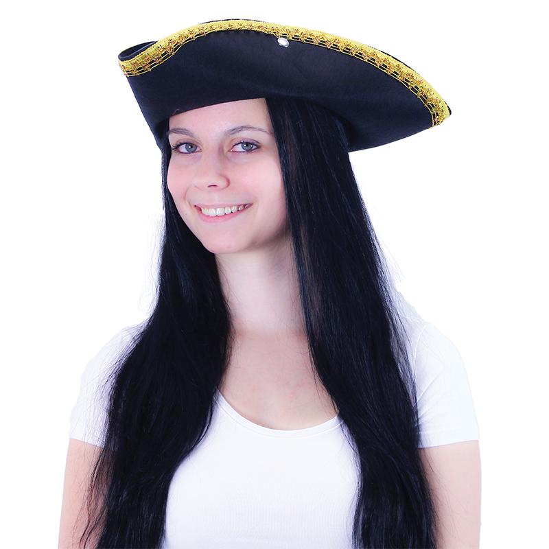klobúk pirátský KLASIK pre dospelých