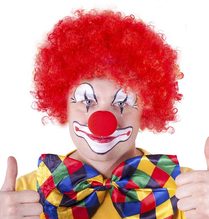 parochňa klaun červená pre dospelých