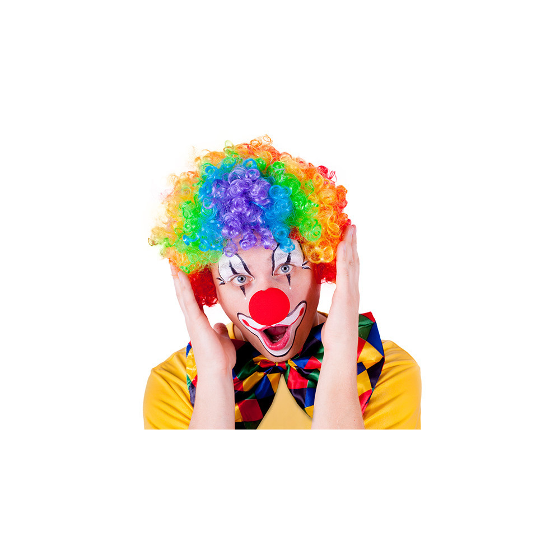 parochňa klaun farebná, dospelá