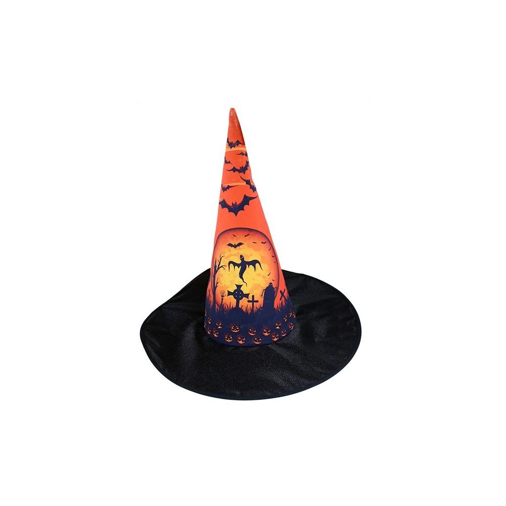 klobúk Halloween pre dospelých