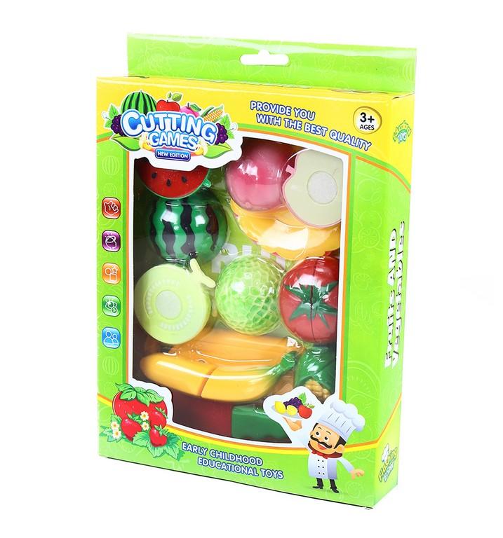 sada krájanie suchý zips ovocie/zelenina
