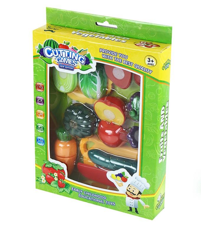 sada krájanie suchý zips zelenina/ovocie