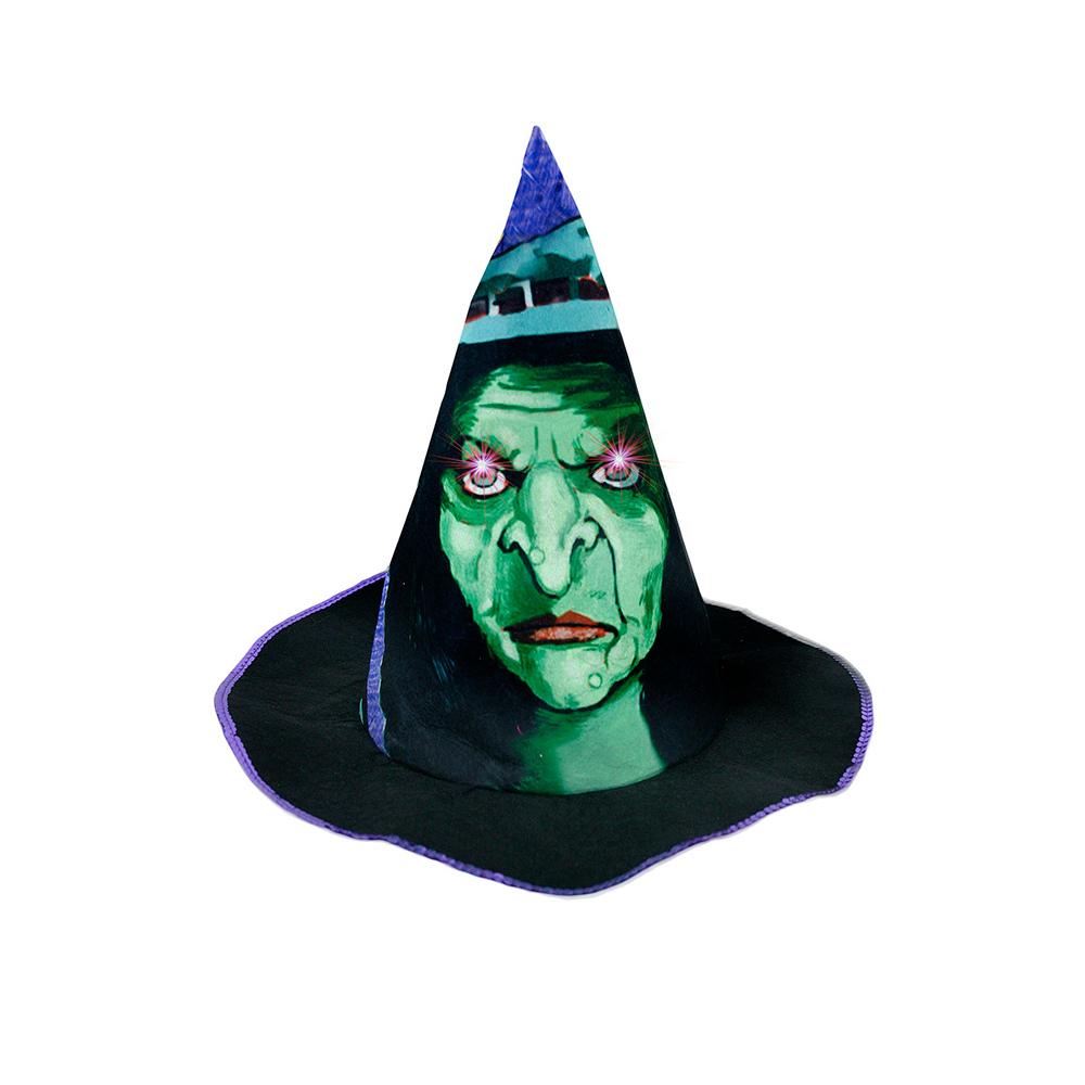 klobúk čarodej detský, svetlo + zvuk