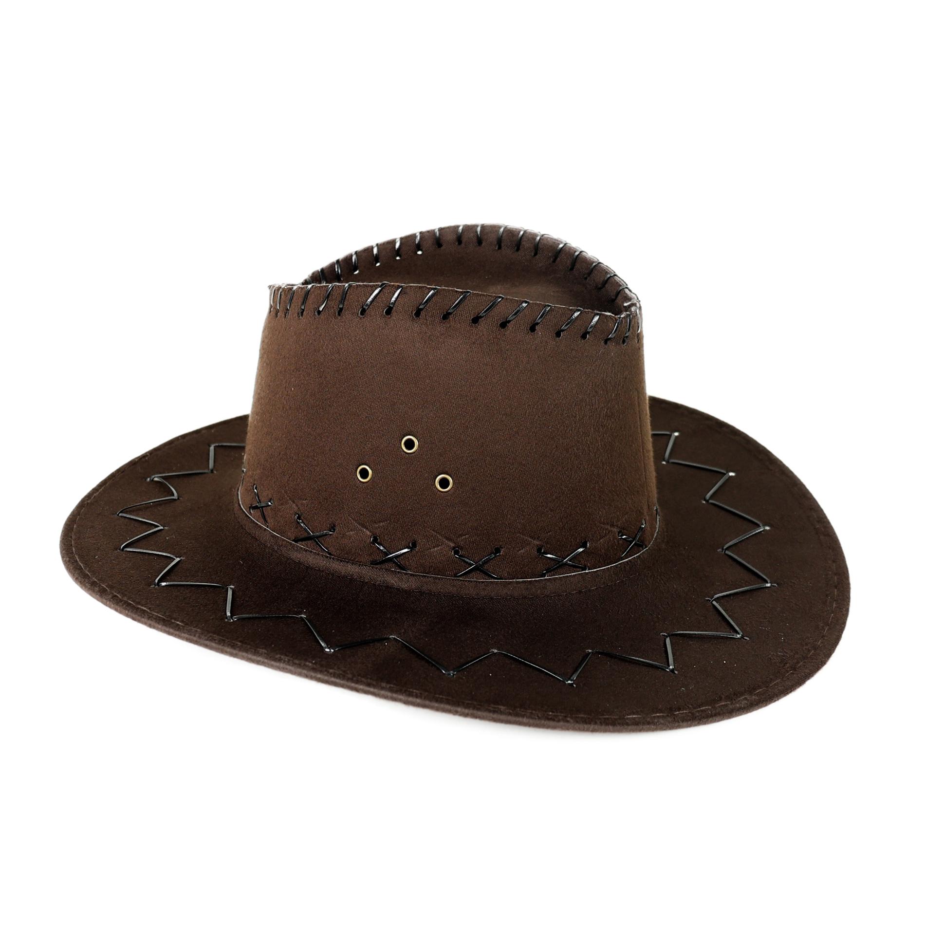 klobúk kovbojský pre dospelých