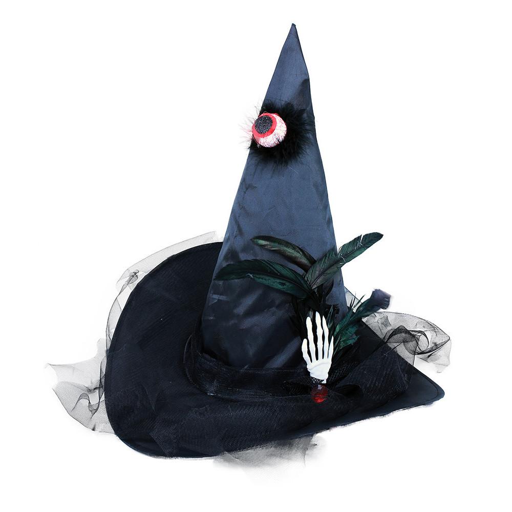 klobúk čarodejnícky s okom pre dospelých