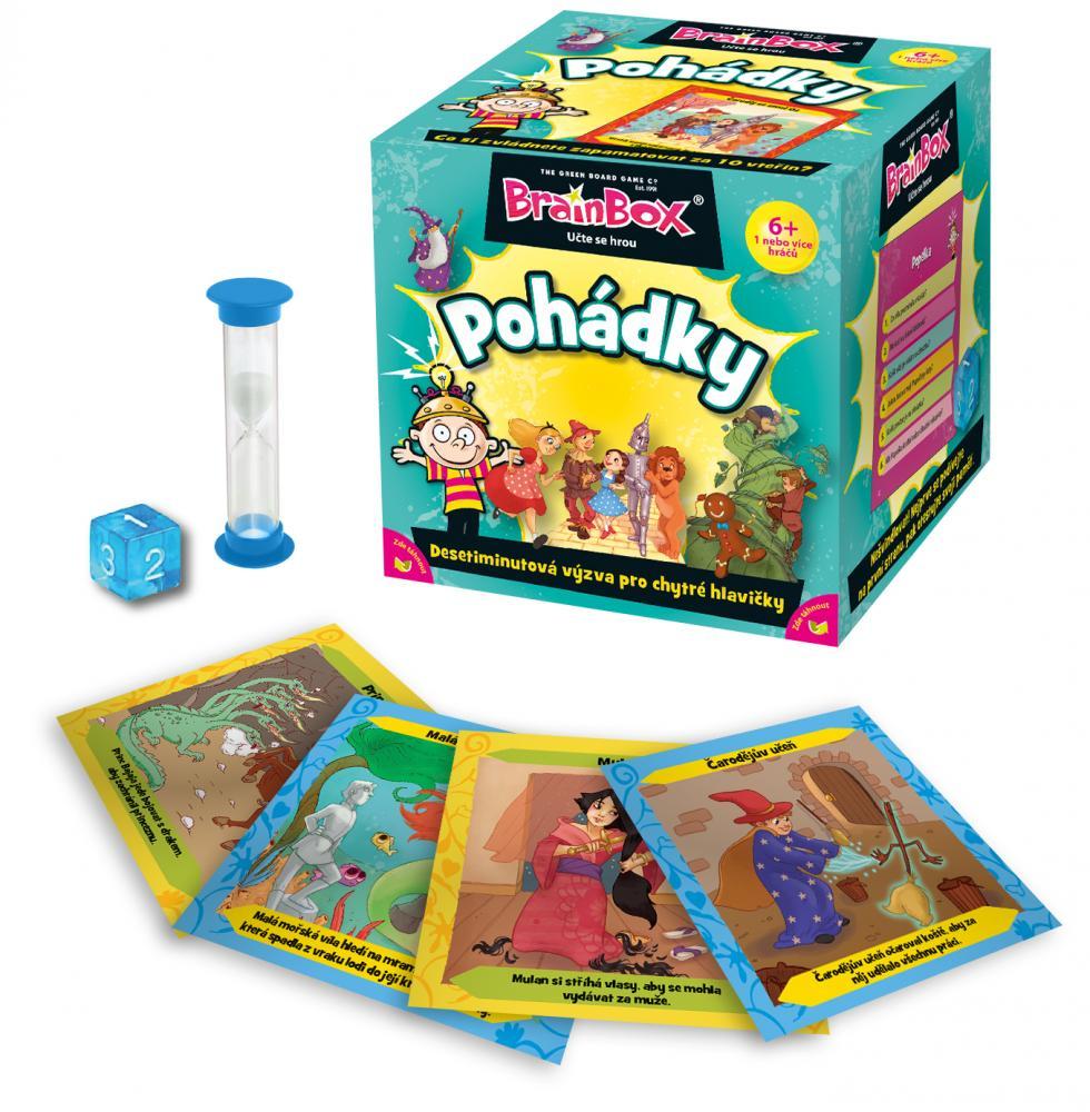Hra Brainbox - pohádky