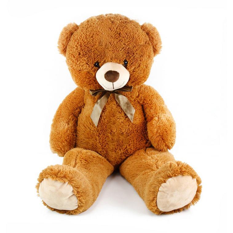 veľký plyšový medveď Oskar 90 cm hnedý