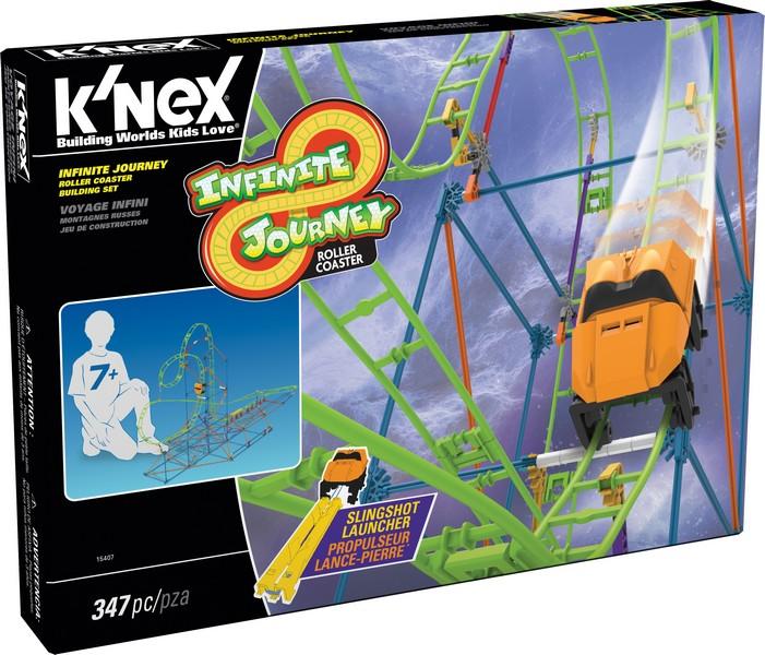 KNEX - Stavebnica Horská dráha, 347dílků