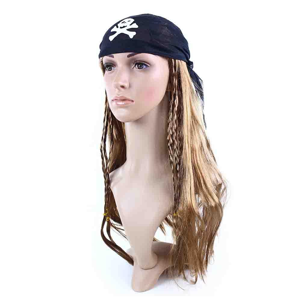 parochňa pirátska s šatkou pre dospelých