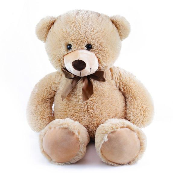 veľký plyšový medveď Bono 80 cm svetlý