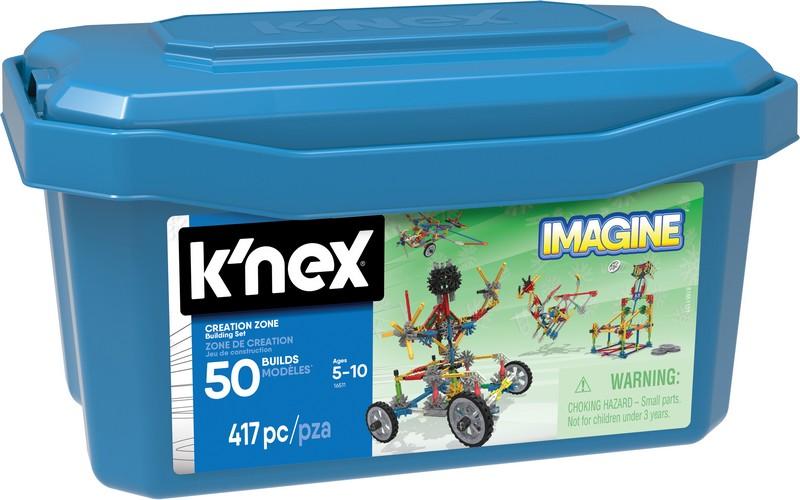 KNEX Stavebnica box 50 modelov, 417 dielikov