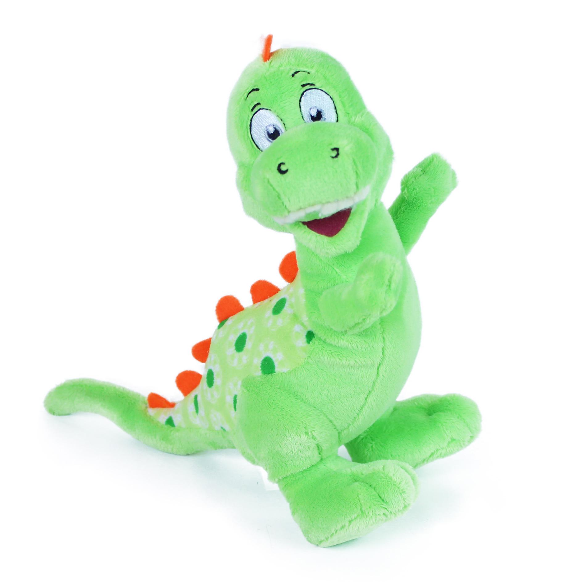 plyšový dinosaurus veselý, 20 cm