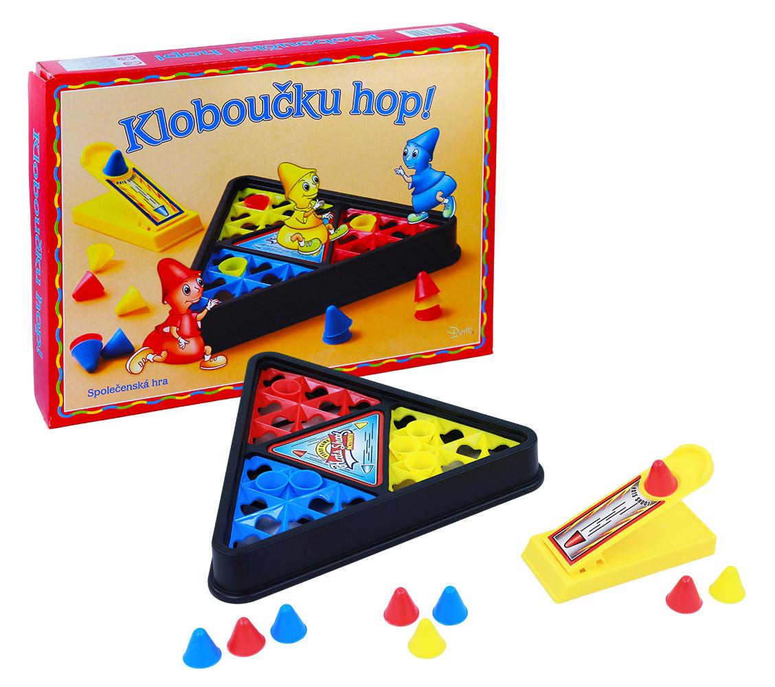 hra Klobúčiku hop!