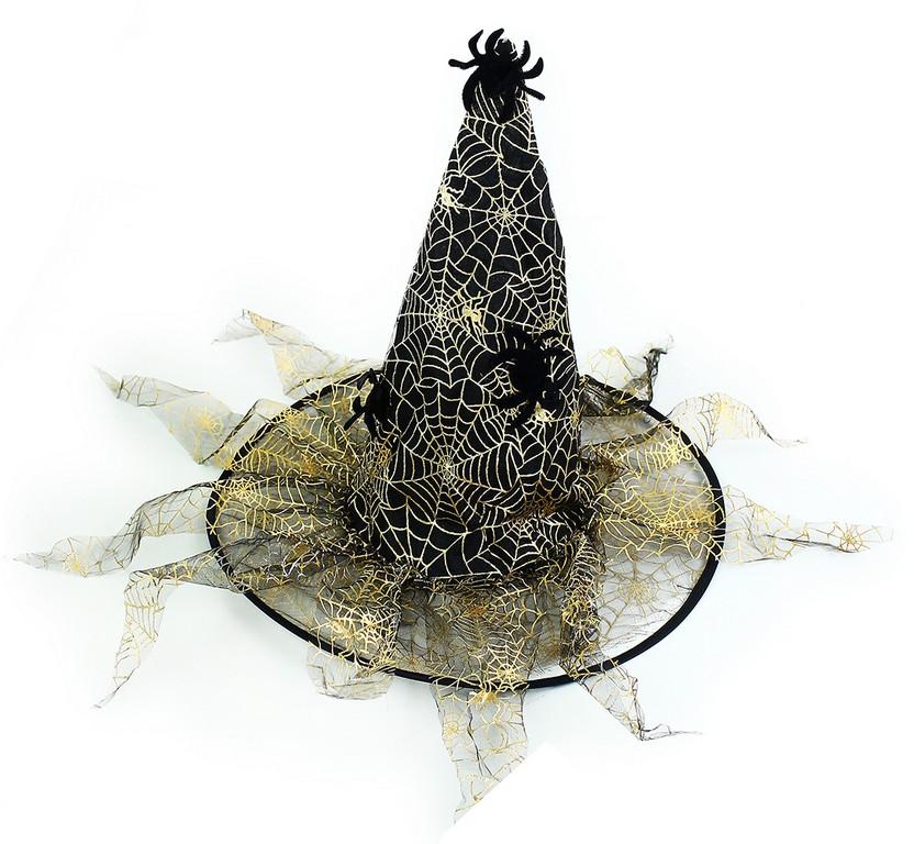 klobúk čarodejnícky/halloween, 2 druhy, dospelý