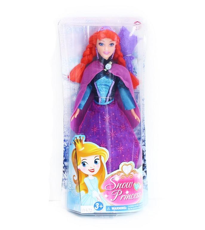 panenka zimní království princezna zrzka 29 cm