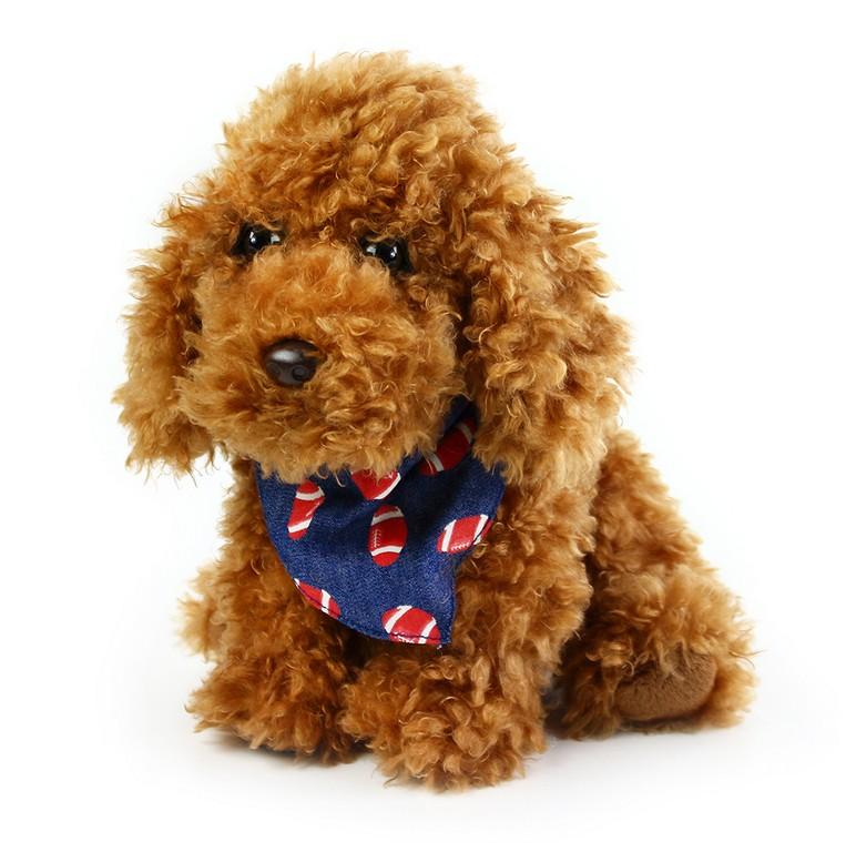 plyšový pes chumláč sa šatkou 23 cm