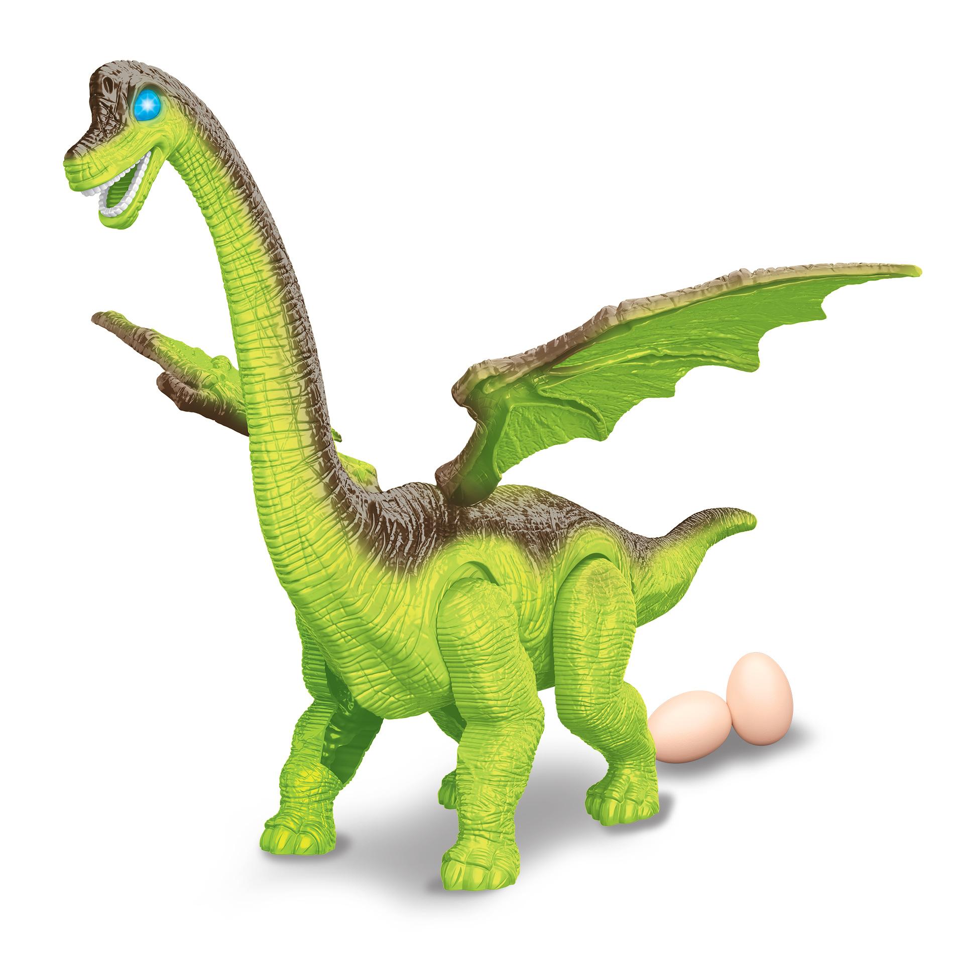 Chodící dinosaurus DODO se zvukem a světlem