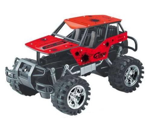 auto jeep terénný červený