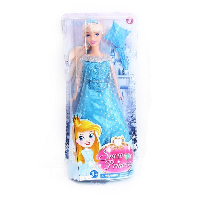 panenka zimní království princezna blond 29 cm
