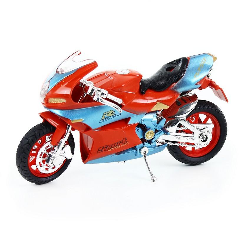 motorka plastová so zvukom a svetlom