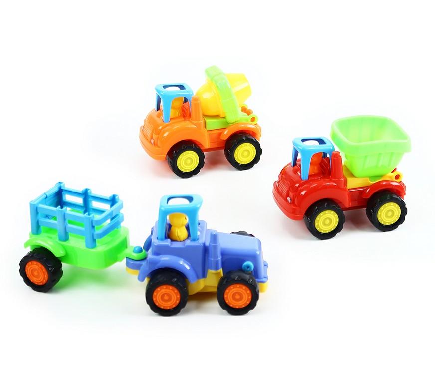 sada autá / traktor