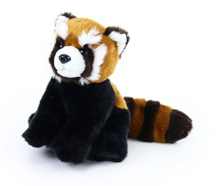 plyšová panda červená 20 cm
