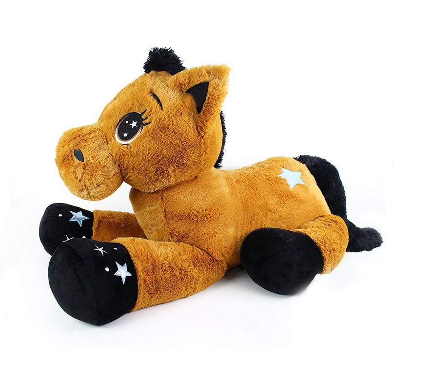 veľký plyšový kôň Kopýtko 122 cm