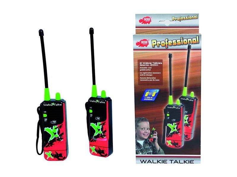 Vysielačky Walkie Talkie X-Treme, 16 cm, dosah 200m